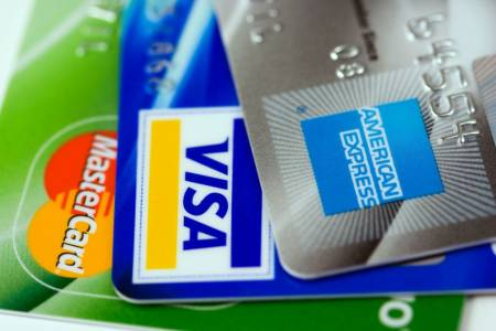 Visa, Mastercard eller American Express