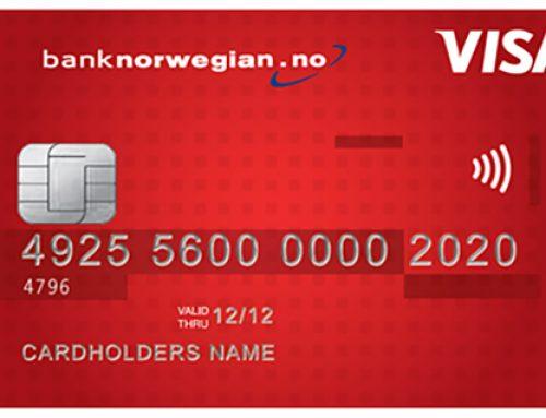 Bank Norwegian er beste kredittkort 2017